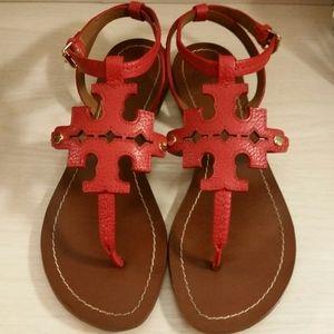 •RARE•Tory Burch Emblem Sandals
